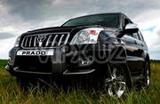 Аренда авто с водителем - внедорожники tayota prado - седаны.