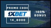 Промо-код для 1XBET на 1 300 000 сум